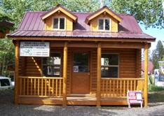 Small Cabins For Sale Pine Hollow Log Homes