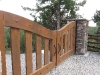 Custom Timber Gate