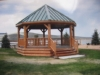 Panguitch Lake Resort Custom Gazebo