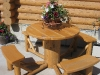 "38"" Round Picnic Table"